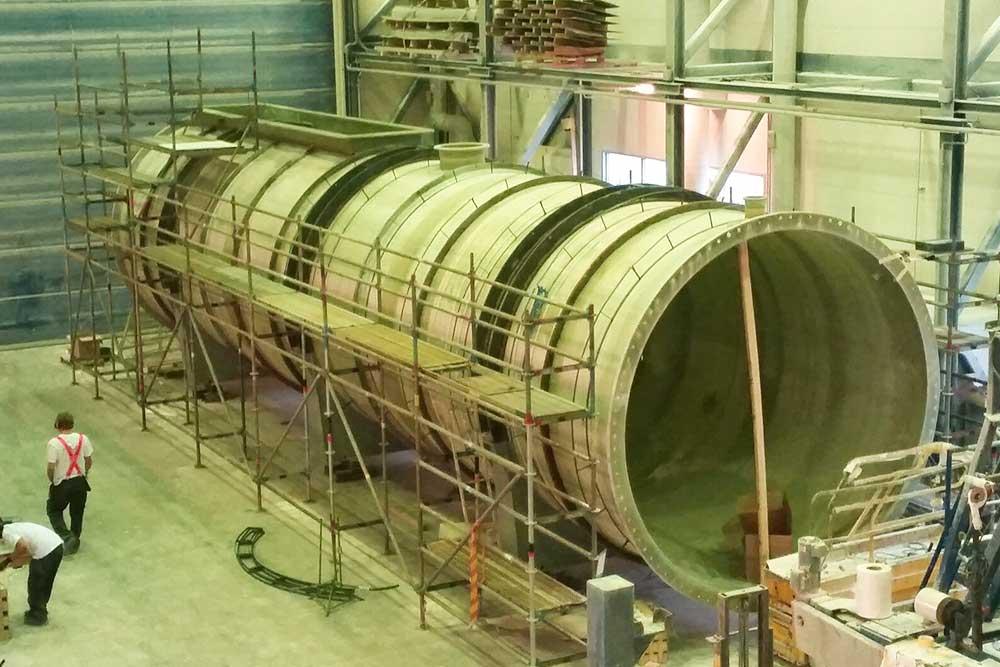 Biogasreaktor tillverkning